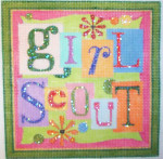 HO115 GIRL SCOUT Raymond Crawford Designs