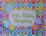 KC-222 Lollipop Lattice Baby Sleeping Sign Associated Talents