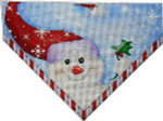 ST-689 Snowman/Flakes Stocking Top #1 Associated Talents