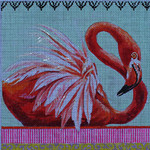 AN164 Colors of Praise Flamingo 7 1/2x7 1/2 18M
