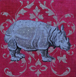 AN144 Colors of Praise White Rhino 7 1/2x71/2 13M