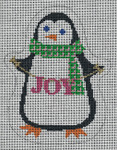 "Barbara Bergsten Designs G07A* Penguin Joy 5.5 "" x 4.5"" #18 mesh"