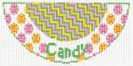 "Barbara Bergsten Designs K08A* Candy Kiss 2.5"" X 5.5"" #18 mesh"
