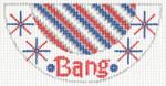 "Barbara Bergsten Designs K13A* Bang Kiss 2.5"" X 5.5"" #18 mesh"