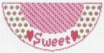 "Barbara Bergsten Designs K04A* Sweet Kiss 2.5"" X 5.5"" #18 mesh"