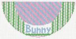 "Barbara Bergsten Designs K07A* Bunny Kiss 2.5"" X 5.5"" #18 mesh"
