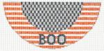 """Barbara Bergsten Designs K12A* BOO Kiss 2.5"""" X 5.5"""" #18"""