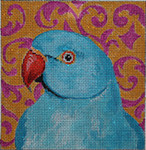 AN115 Colors of Praise Blue Parrot-Animal 7x7 13M