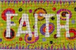IF107 Colors of Praise Faith  17x11 13M