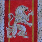 MC11 Royal Lion 7 1/2x7 1/2 18 Mesh Colors of Praise