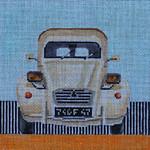 MC15 French Vintage Car 7 1/2x7 1/2 13 Mesh Colors of Praise