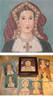 "LL131 Labors Of Love Catherine of Aragon 18 Mesh 5"" x 5"""