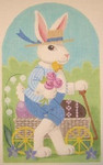 "LL192E Labors Of Love Henry Rabbit 18 Mesh 7.5"" x 12.25"""