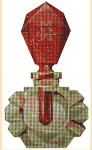LL150H Labors Of Love Ruby Dauber Perfume Bottle 18 Mesh 6""