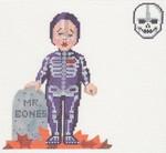 LL214 Labors Of Love Mr. Bones 18 Mesh 4.25x5.5, 1.25x1.5