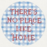 "LL200N Labors Of Love There's No Place Like Home 18 Mesh 6"" round"