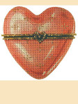 LL180C Labors Of Love Heart 18 Mesh 4""