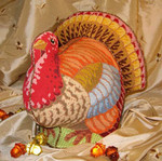 LL211 Labors Of Love Elegant Turkey 18 Mesh 9x9.5 (2), 9.75x9, 9.75x6.25