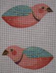 LL300H Labors Of Love Fantasy Bird Clip on 18 Mesh 5 x 2