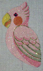 "LL300A Labors Of Love Pink Cockatoo Clip on Bird 18 Mesh 3"" x 5"""
