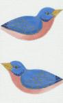 LL300J Labors Of Love Eastern Blue Bird Clip on 18 Mesh 6x4 each