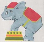 "LL522C Labors Of Love Circus Elephant 18 Mesh 6"" x 5.75"""