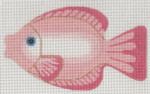 """LL510B Labors Of Love Clip On Fish Kissing  18 Mesh 5"""" x 3"""" Includes clip"""