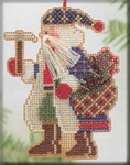 MHMS18 Mill Hill Santa Ornament Kit Mt. Whitney Santa (2004)