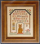 05-2919 Kitty Cottage Sampler by Little House Needleworks
