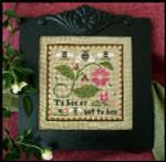 09-1583 Bee Sampler 85 x 85 Little House Needleworks