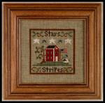 07-1555 Stars & Stripes Little House Needleworks