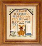 05-2918 Dog House Sampler by Little House Needleworks