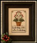07-1554 Ladybug Ladybug by Little House Needleworks