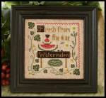 09-1679 Fresh Watermelon 86 X 86 Little House Needleworks