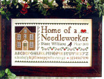 03-2816 Home Of A Needleworker by Little House Needleworks