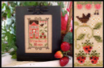 08-2115 Strawberry House by Little House Needleworks