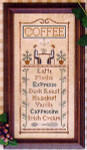 05-2801 Coffee Menu by Little House Needleworks