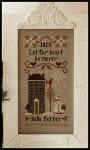 10-2122 Be Merry - Belle Pepper 67 x 143 Little House Needleworks YT