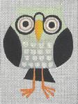 CZ-01 Danji Designs CHARLIE ZAPARTE Wise Owl 3 x 4 18 Mesh