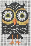 CZ-06 Danji Designs CHARLIE ZAPARTE Night Owl 3 x 4 18 Mesh