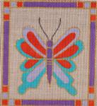 AW-17 Danji Designs ANN WINN Craftsman Butterfly 4 x 4 ½ 18 Mesh
