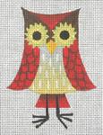 CZ-03 Danji Designs CHARLIE ZAPARTE Tall Owl 3 x 4 18 Mesh