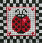 CB-78 Ladybug 5 x 5 13 Mesh CHRISTINE SAUNDERS