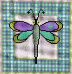 CB-79 Dragonfly 6 x 6 13 Mesh CHRISTINE SAUNDERS