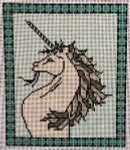 ERB-21 Unicorn I 6 ½ x 7 ½ 13 Mesh EILEEN R. BEST