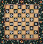 ERB-16 Chess  22 ½ x 22 ½ 18 Mesh EILEEN R. BEST