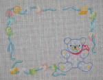J-9 Plaid Teddy (blue) Announcement 9 x 7 18 Mesh DESIGNS BY JINICE