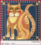 2601 Leigh Designs Ginger 18 Count Canvas