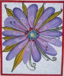 LB-24 Lavender Flower  10 x 12 18 Mesh Danji Designs LAUREL BURCH