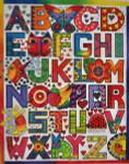 LB-40 Alphabet Sampler 12 ½  x 16  18  Mesh Danji Designs LAUREL BURCH